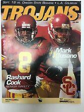 1990 USC TROJANS SOUTHERN CALIFORNIA VS OREGON STATE FOOTBALL PROGRAM NCAA