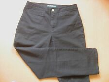 "Black denim~Women~Jeans~by Ralph Lauren~sz 12~98% cotton~2% spandex~32"" waist"