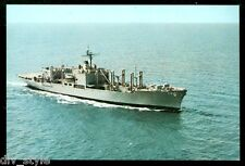 USS San Diego AFS-6 Combat Stores Ship postcard  US Navy warship (card 2 of 2)