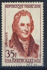 TIMBRE FRANCE OBLITERE N° 1149 CELEBRITE BERTHOLLET