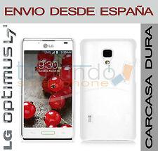 CARCASA FUNDA DURA BLANCA para LG OPTIMUS L7 II 2 P710 en ESPAÑA