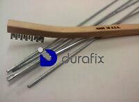 DURAFIX® - 5 Baguettes à souder l'Aluminium + 1 Brosse inox