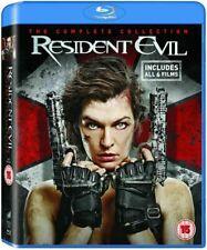 Resident Evil (Blu-ray, 2017, 6 - Disc Set)