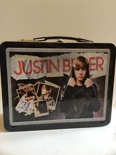 Young Justin Bieber Metal Lunch Box I Love Be Bieber Without Thermos