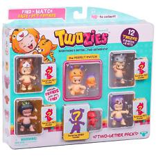 Twozies zwei zusammen Pack Inc 12 twozies (6 Babies + 6 Pets)