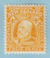 NEW ZEALAND 135  MINT HINGED OG * NO FAULTS EXTRA FINE !