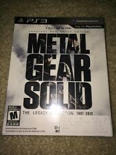 New Sealed Metal Gear Solid: The Legacy Collection 1987-2012 With Art book