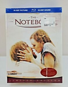 THE NOTEBOOK Limited Edition Blu Ray Scrapbook Bookmark Notemark Stickers New
