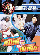 Martial Arts Double Feature: Magnificent Kick/Butcher Wing (DVD, 2003) SEALED