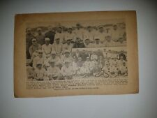 Inter-Allied Games Le Mans S.O.S. USA and Canada 1919 Baseball Team Picture