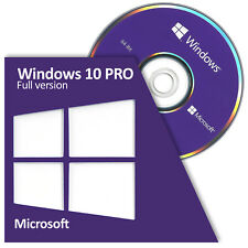 Windows 10 Professional PRO 64 Bit FULL Version DVD Sealed Brand New - Fast Ship