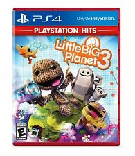 Little Big Planet 3 PS4 Brand New Factory Sealed PlayStation 4