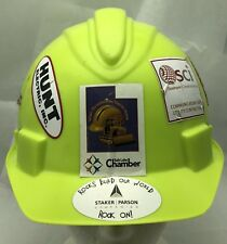 Lime Green Jackson Safety 2004985 Charger High Density Polyethylene Hard Hat
