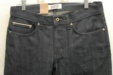 NWT Naked & Famous Denim indigo selvedge weird guy jeans 33 made in Canada