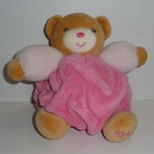 Doudou Ours Kaloo - Collection Plume - Rose