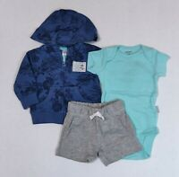 Carters 3 or 6 Months 2 Piece Set Kitty Cat I Love Mommy Cheetah Print Theme