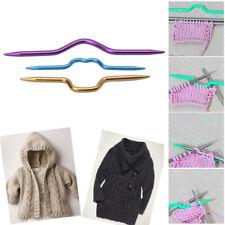 3Pcs Knitting Needles Pins Crochet Hooks Sewing Stitch Knit Tools Aluminum DIY