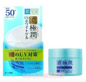 Japan HADALABO GOKUJUN All-in-One UV Whitening Gel Cream SPF50+/PA++++~w/Gift