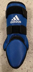 Adidas Baseball Pro Series Batter's Ankle Foot Guard AZ9659 Blue-One Size