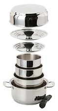 Galleyware 14-pc. Stainless Steel Nesting Induction Cookware Set