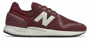 New Balance Men's 247S Shoes Red with Silver