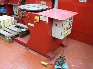 USED  500 Kgs 110V Welding Positioner. UK Seller. UK Stock. Price includes VAT