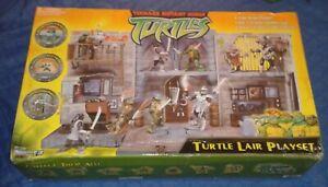 2003 *** TURTLE LAIR PLAYSET (MIB) *** UK ONLY TEENAGE MUTANT NINJA TURTLES TMNT