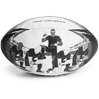 Haka War Dance Rugby Match Ball | Official Size 5 Ball with Textured Grip