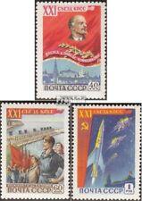Sovjet-Unie 2190-2192 gestempeld 1959 Communistische Feestje