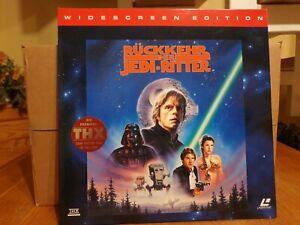 Laserdisc Star Wars 6 DIE RÜCKKEHR DER JEDI-RITTER Pal deutsc THX/CAV Version