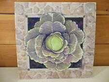 "Original 16X16 Oil Painting Artist Joy Campbell ""Cabbage"""