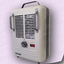 Patton Heater Thermostat Utility Electric Portable Room Air 1500 Watt PUH680-WM1