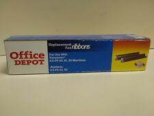 office depot replacement fax ribbons panasonic kx fp 808185