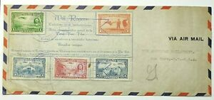1939 Nicaragua Will Rogers Airmail First Day Cover to American Philatelic Soc.