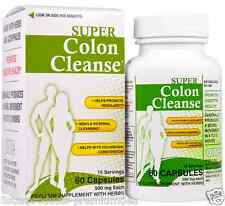 NEW HEALTH PLUS INC SUPER COLON CLEANSE HELPS PROMOTE REGULARITY & DIGESTIVE