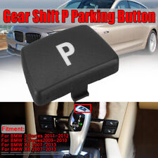 Gear Shift Knob P Button Parking Replacement Cover Trim For BMW 3/5 Series X5