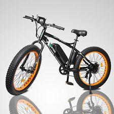 500W 36V Electric Bike eBike Snow Cruiser Bicycle 7 Gears Cycling 4.0 Fat Tire