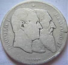 Belgie Zilveren 2 Francs 1830-1880
