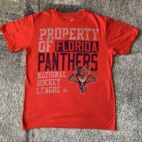 Majestic NHL Florida Panthers Property Hockey Shirt Mens Large