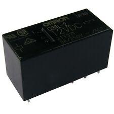 OMRON g2rl-2-12 relais 12v DC 2xum 8a 360r pcb power relay 854749