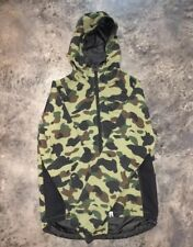 A Bathing Ape Camo Rain Jacket Men Size Large