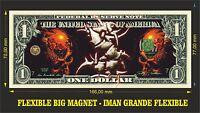 Sepultura IMAN BILLETE 1 DOLLAR BILL MAGNET