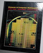 Elements of Computer Mathamatics 1985