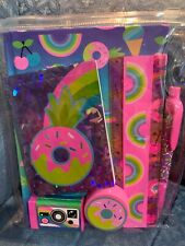 Donuts Icecream Rainbows & Sprinkles Journal/Pen/Eraser/Ruler/ Pad Accessory Set!