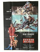 James Bond 007-Feuerball-Sean Connery Orginal AO Kinoplakat EA Rar