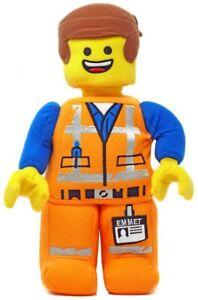 EMMET plush NEW stuffed animal LEGO MOVIE 2 doll EMETT minifigure mini figure