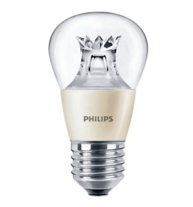 Philips ES E27 2200-2700k Flame 470 lm Master LED Dimmable Dim Tone Light Bulb