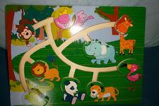 Holzschiebepuzzle Kleinkinderspielzeug
