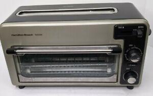 Hamilton Beach Toastation Toaster Oven & Toaster 22720  Works Great 2 in 1