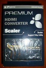 Portta VGA to HDMI Converter, 720p / 1080P Scaler (compatible Dreamcast VGA Box)